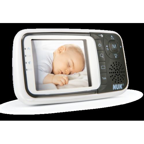 NUK Беби Монитор ECO Control + Video (Night Vision, Melodies)