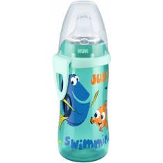 """NUK Шишенце со некапечко силикон клунче """"Active Cup Disney Dory"""" (12+m.)"""