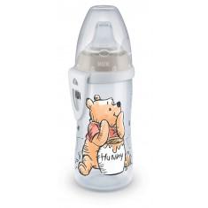 """NUK Шишенце со некапечко силикон клунче """"Active Cup Disney Winnie The Pooh"""" (12+m.)"""