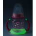 "NUK PP First Choice+ Флуросцентно шише со рачки и силикон клунче ""Glow In The Dark"" - (6+мес.)"