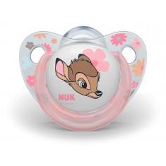 """NUK Цуцла Лажалка Анатомска """"Disney Bambi"""" пакување од 2 цуцли (0+м.)"""