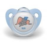 """NUK Цуцла Лажалка Анатомска """"Disney Dumbo"""" пакување од 2 цуцли (0+м.)"""