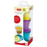 NUK Fresh Foods Посуди за Храна 6 пар. (4+ месеци)