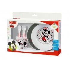 NUK Прибор за Јадење Disney Mickey Mouse 6+м.