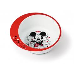 NUK Тањир Длабок Mickey Mouse 6+м.