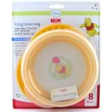 NUK Easy Learning Тањир Disney Winnie The Pooh 8+ м.