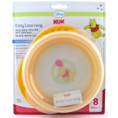 NUK Easy Learning Тањир Disney Winnie The Pooh 8+ м.