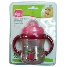 Tigex Baby Чашка со рачки Некапечка 180мл (6+мес)