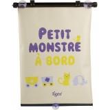 "Tigex Ролетна за Кола сет од 2 ""Little Monster - Little Princess"" (36cm)"