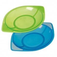 "Tigex Сет од 2 Беби Тањирчиња ""Colors"" (3+мес)"