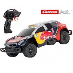 "CARRERA кола со далечинско управување ""Peugeot 08 DKR16 Red Bull"""