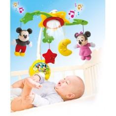 Clementoni Disney Baby Mickey Музичка Вртелешка за кревет (0+ мес.)