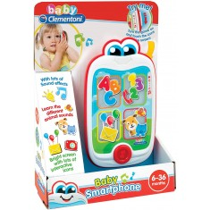 """Clementoni Clemmy Baby """"Smart Phone"""" (6-36 mes.)"""