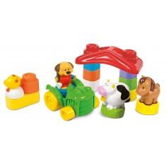 "Clementoni Clemmy Baby Play Set ""Happy Farm""(6-36mes.)"