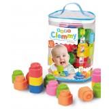 Clementoni Baby Clemmy 48 Меки Коцки во Торба (6-36мес.)