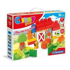 """Clementoni Clemmy Plus Play Set """"Fun Farm"""" (18+mes.)"""