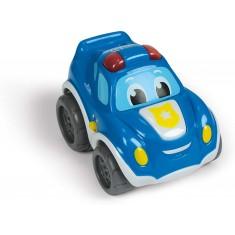 "Clementoni Baby Полициска Кола ""Pull Back & Go"" (12-48 мес.)"
