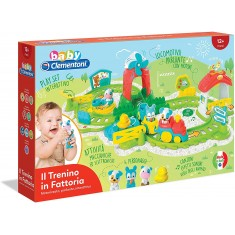 Clementoni Baby Clemmy Интерактивен Воз - Фарма (12+мес.)