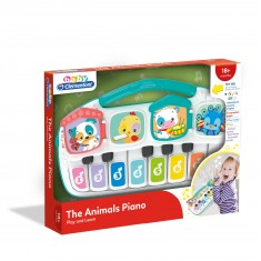"Clementoni Clemmy Baby ""Зборувачко Пиано - Animal Piano"" (18+ мес.)"