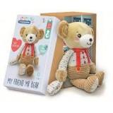 "Clementoni Baby ""Кадифено Мече - BOB The Bear"" (0+ mes.)"