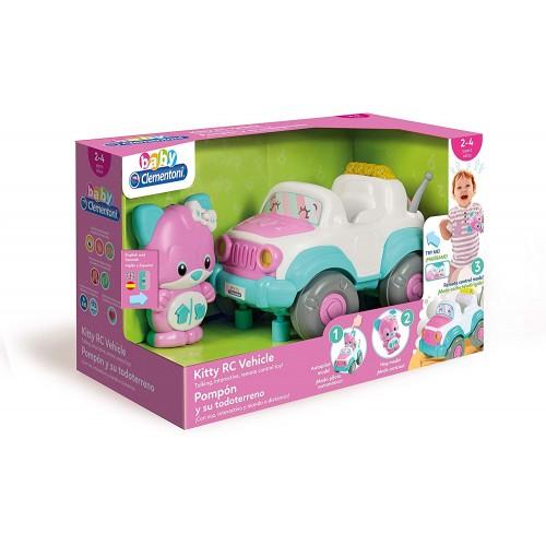 "Clementoni Clemmy Baby ""Кола со далечинско  - Kitty RC"" (2-4год.)"