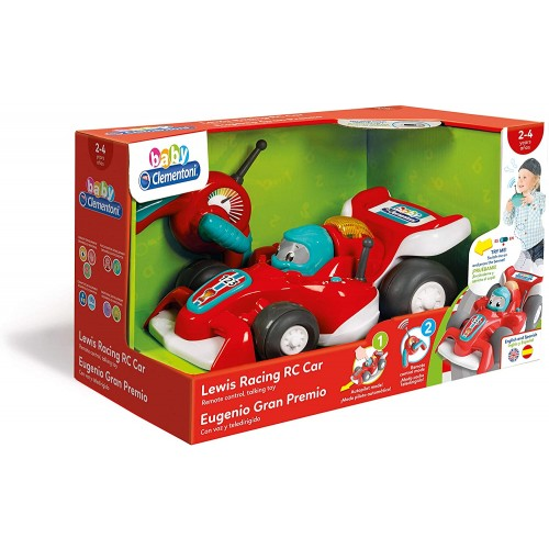 "Clementoni Clemmy Baby ""Кола со далечинско  - Lewis RC"" (2-4год.)"