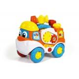"Clementoni Clemmy Baby ""Интерактивен Камион - Tool Truck"" (10-36 мес.)"