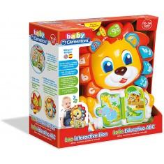 "Clementoni Clemmy Baby ""Интерактивен Лав- ABC Leo"" (10-36 мес.)"