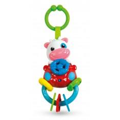 """Clementoni Baby Електронска Тропка-Глодалка """"Крава""""(3+мес.)"""
