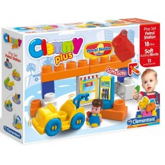 "Clementoni Clemmy Plus Play Set ""Gas Station"" (18+mes.)"