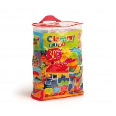 Clementoni Clemmy Plus 30 Меки Коцки во Торба 18+ мес.
