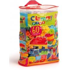 Clementoni Clemmy Plus 60 Меки Коцки во Торба 18+ мес.