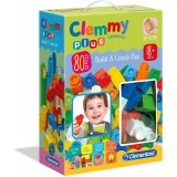 "Clementoni Clemmy Plus Меки Коцки ""Build & Create"" (18+mes.)"
