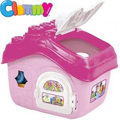 Clementoni Baby Меки Коцки Куќата на Minnie Mouse (6-18 мес.)