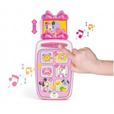 """Clementoni Clemmy Baby """"Minnie Smartphone"""" (9-36 mes.)"""