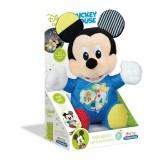 Clementoni Disney Baby Mickey светлечка плиш кукла 6+мес.