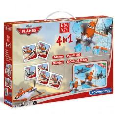 "Clementoni Edu Kit игри 4во1 ""Disney Planes"" (3+год.)"