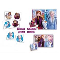 """Clementoni Edu Kit игри 4во1 """"Frozen 2"""" (3+год.)"""