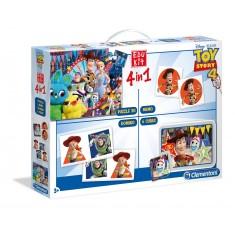 """Clementoni Edu Kit игри 4во1 """"Toy Story"""" (3+год.)"""