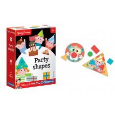 "Clementoni Едукативна Игра - Форми ""Party Shapes""(2+год.)"