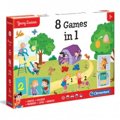 """Clementoni Едукативна Игри """"8 Игри во 1"""" (3+год.)"""
