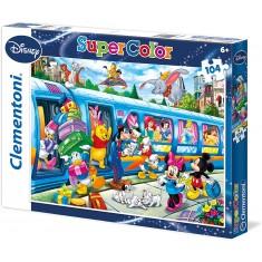 Clementoni Disney Maxi Puzzle 104 пар. (6+год.)