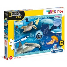 "Clementoni National Geographic ""Ocean Explorer"" Puzzle 104пар. (6+год.)"