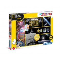 """Clementoni National Geographic Вселена """"I Need More Space"""" Puzzle 180пар. (7+год.)"""