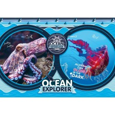 """Clementoni National Geographic """"Ocean Expedition"""" Puzzle 180пар. (7+год.)"""