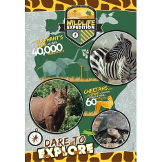 """Clementoni National Geographic """"Wild Expedition"""" Puzzle 180пар. (7+год.)"""