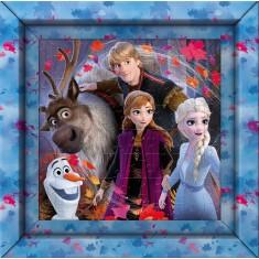 Clementoni Disney Frozen  60pcs Puzzle со рамка (6+год.)