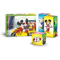 "Clementoni Мулти Коцки Сложувалка ""Mickey Roadster Racers""(4+год.)"