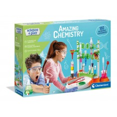 """Clementoni Science and Play """"Хемиска Лабораторија 180"""" (8+год.)"""