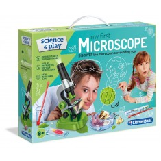 """Clementoni Science and Play """"Научен Микроскоп """" (8+год.)"""